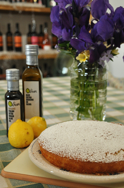 olive oil and lemon cake recipe from Puglia