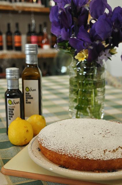 olive oil and lemon cake recipe from Puglia