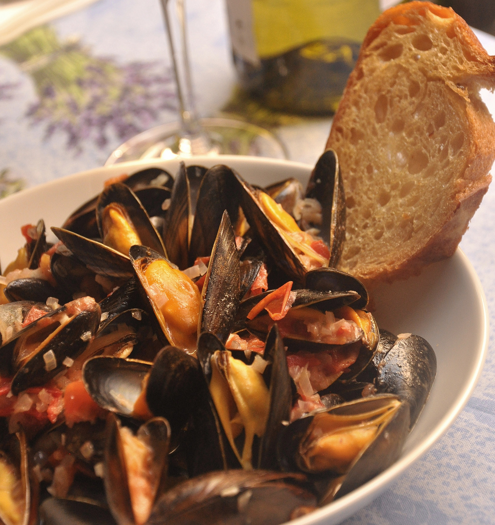 Mussels in Pastis from Cook in Provence Class
