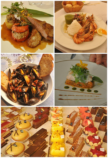 Food and Pastries in Provence