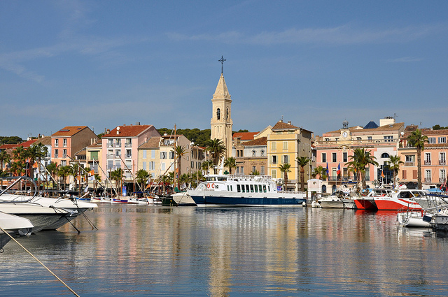 Sanary-sur-Mer in Provence