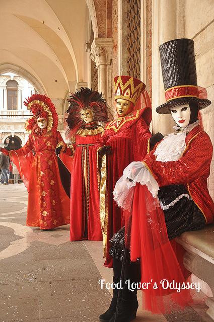 Carnival Costumes in Venice 2014