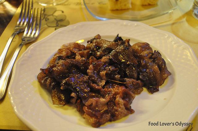 La Barbozza al Sagrantino at L'Alchimista in Umbria