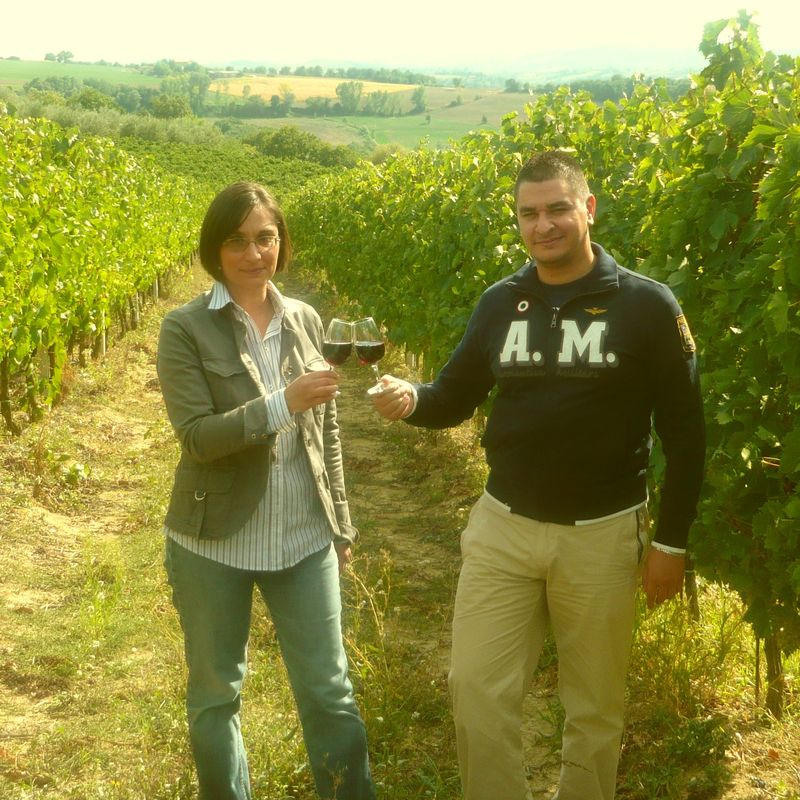 Alessandra and Leonardo of Discover Umbria