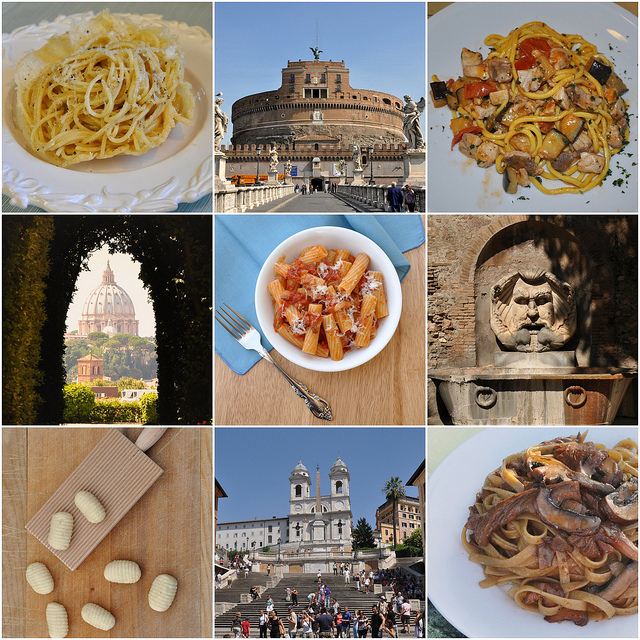 Food and wine Vacation Rome