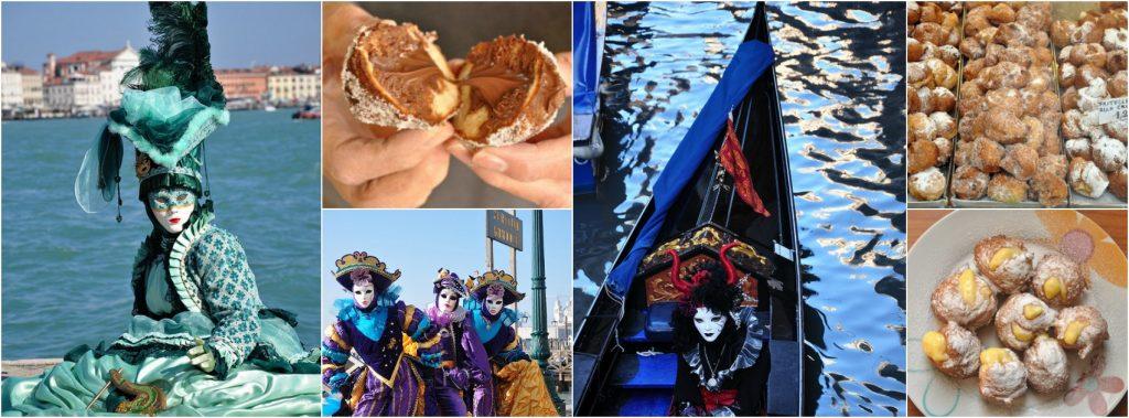 Carnival Food in Venice