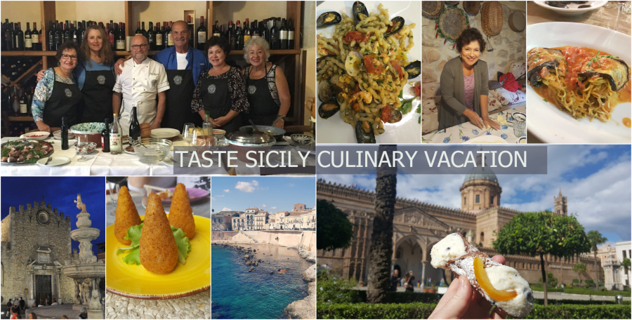 Taste Sicily Food Wine Vacation