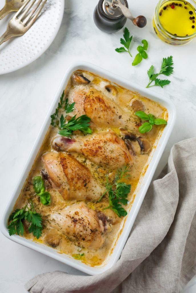 Burgundian Chicken Cooking Class